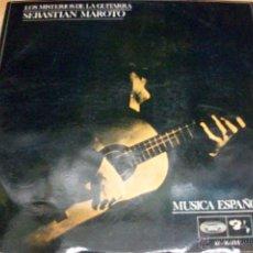 Discos de vinilo: LOS MISTERIOS DE LA GUITARRA-SEBASTIAN MAROTO-AÑO 1968. Lote 53939650