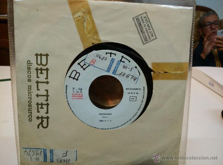 LOS 5 LATINOS EP TE AMO Y TE AMARÉ + LOS 4+4. GERONIMO (Música - Discos - Singles Vinilo - Grupos Españoles 50 y 60)