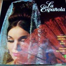 Discos de vinilo: LA ESPAÑOLA- ORQUESTA ESPAÑOLA DE BAILE-ATANASIO ORTIN. Lote 53943681
