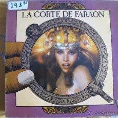 Discos de vinilo: LP - LA CORTE DEL FARAON - BANDA SONORA ORIGINAL (SPAIN, CBS 1985). Lote 53950949