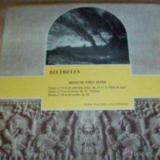 Discos de vinilo: BEETHOVEN-SONATAS PARA PIANO-AÑO 1959. Lote 53953648