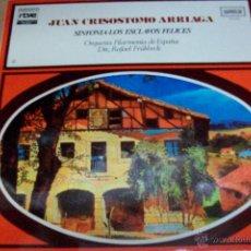 Discos de vinilo: JUAN CRISOSTOMO ARRIAGA-SINFONIA DE LOS ESCLAVOS FELICES. Lote 53953789