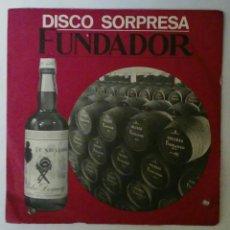 Discos de vinilo: DISCO SORPRESA FUNDADOR 7 PROMOCION 1968/69. Lote 53954731