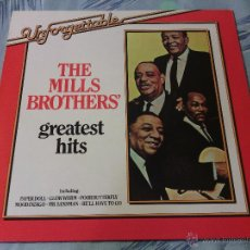 Discos de vinilo: LP VINILO THE MILLS BROTHERS - GREATEST HITS / BRC CLUB EDITION GERMANY PRESS / RARO!!!. Lote 53955795