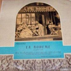 Discos de vinilo: PUCCINI- LA BOHEME-FRAGMENTOS. Lote 53956292