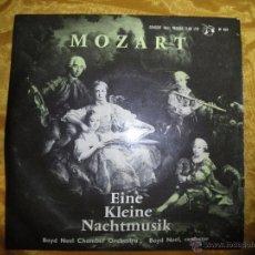 Discos de vinilo: MOZART. EINE KLEINE NACHTMUSIK. THE BOYD NEEL CHAMBER ORCHESTRA, 1961.IMPECABLE. Lote 53962187