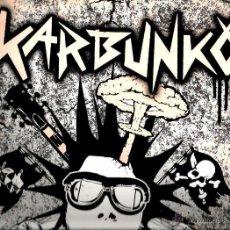 Discos de vinilo: LP KARBUNKO : ENSEÑANDO LOS DIENTES (PUNK ROCK BRUTAL ). Lote 53962329