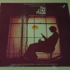 Discos de vinilo: ''THE COLOR PURPLE'' DOBLE LP33 1985 - GERMANY QWEST RECORDS. Lote 53962415