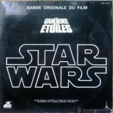 Discos de vinilo: JOHN WILLIAMS. STAR WARS. LA GUERRE DES ÉTOILES BSO. AZ-20TH CENTURY, FRANCE 1977 (2 LP + ENCARTE). Lote 53962438