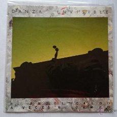 Discos de vinilo: DANZA INVISIBLE - EL ANGEL CAIDO / A VECES EL CAMPO (INSTRUMENTAL) (PROMO 1985). Lote 53967133