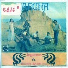 Disques de vinyle: JARCHA / SEGAORES / NUESTRA ANDALUCIA (SINGLE PROMO 1974). Lote 53975680