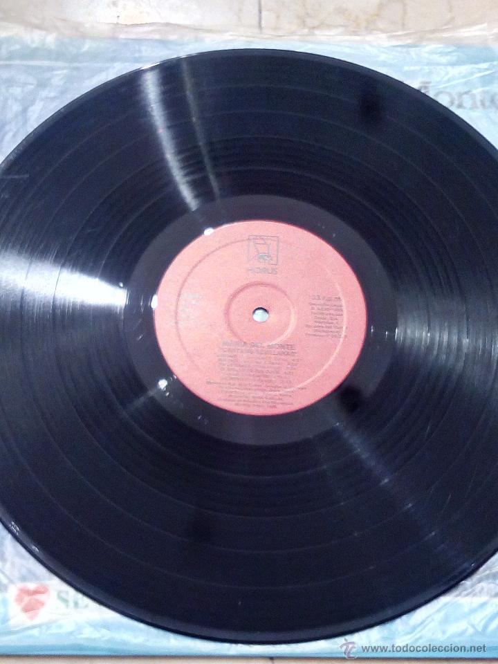 Discos de vinilo: LP MARÍA DEL MONTE - CÁNTAME SEVILLANAS - HORUS 1988. - Foto 4 - 53983059
