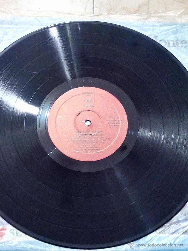 Discos de vinilo: LP MARÍA DEL MONTE - CÁNTAME SEVILLANAS - HORUS 1988. - Foto 5 - 53983059