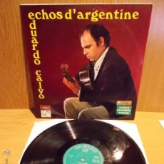 Discos de vinilo: EDUARDO CALVO. ECHOS D'ARGENTINE. LP / ZAFIRO - 1970. VINILO DE BUENA CALIDAD. ***/***. Lote 236182595