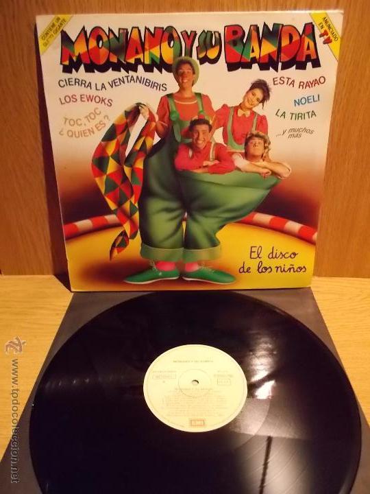 MONANO Y SU BANDA. LP / EMI - 1986. MUY BUENA CALIDAD. ***/*** (Música - Discos - LPs Vinilo - Música Infantil)