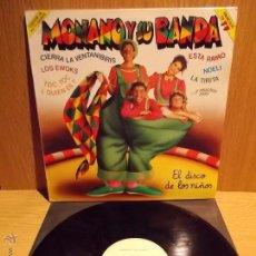 Discos de vinilo: MONANO Y SU BANDA. LP / EMI - 1986. MUY BUENA CALIDAD. ***/***. Lote 53988391