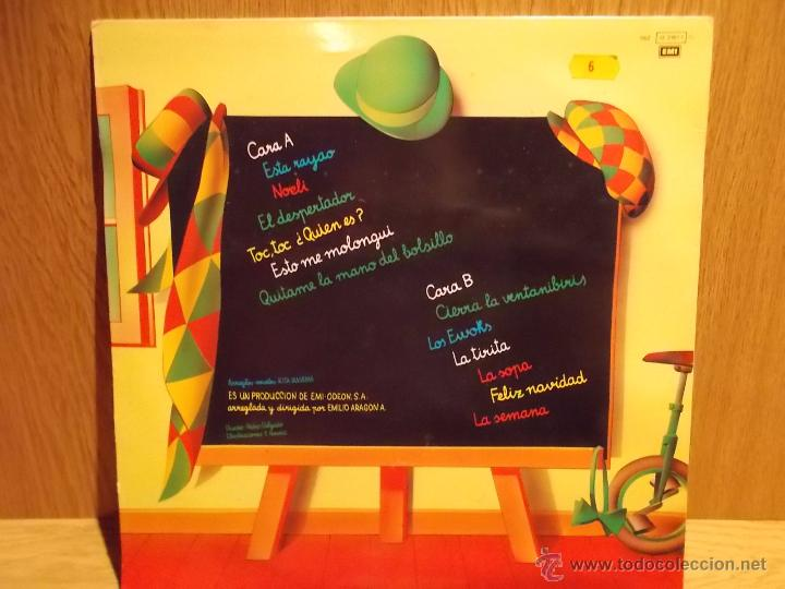 Discos de vinilo: MONANO Y SU BANDA. LP / EMI - 1986. MUY BUENA CALIDAD. ***/*** - Foto 2 - 53988391