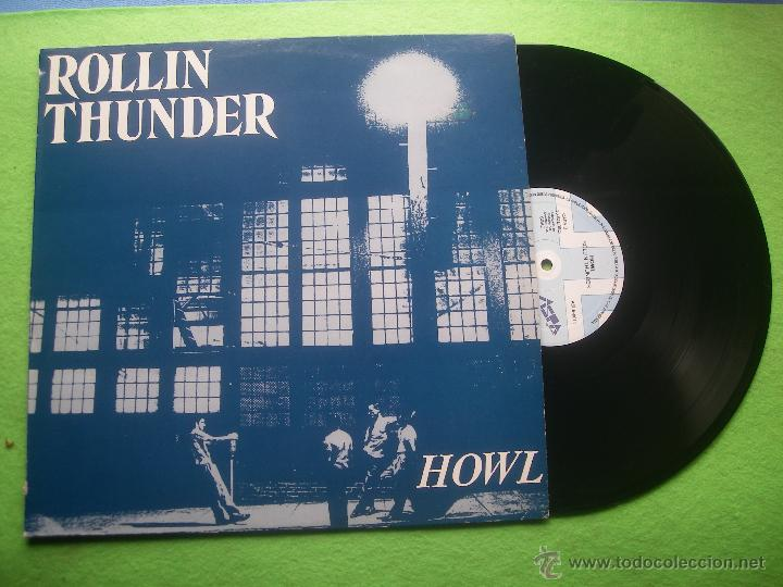 ROLLIN THUNDER HOWL LP SPAIN 1988 PDELUXE (Música - Discos - LP Vinilo - Heavy - Metal)