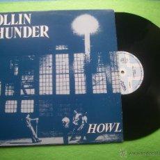 Discos de vinilo: ROLLIN THUNDER HOWL LP SPAIN 1988 PDELUXE. Lote 53988592