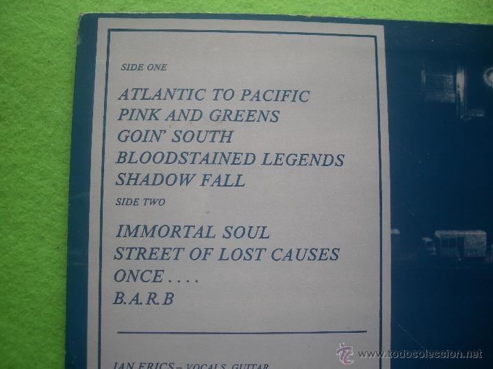 Discos de vinilo: ROLLIN THUNDER HOWL LP SPAIN 1988 PDELUXE - Foto 3 - 53988592