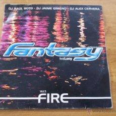 Discos de vinilo: FIRE VOL.3 FANTASY FEAT. LUCY VOL 3. Lote 53989112