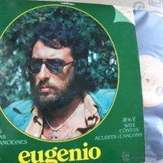 Discos de vinilo: EUGENIO -HISTORIAS, PARRATADAS, CHISTES -LP 1979. Lote 53989141