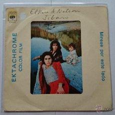 Discos de vinilo: ELKIN & NELSON - JIBARO (APERITIVO) / MARCHA FINAL (1974). Lote 53990695