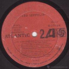 Discos de vinilo: LED ZEPPELIN - LED SEPPELIN VOLUMEN I - ATLANTIC 33216 (SD-8216) - 1970 - EDICION CHILENA - MEGARARO. Lote 53990788