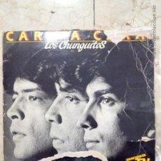 Discos de vinilo: LP LOS CHUNGUITOS - CARA A CARA - DOBLE LP - EMI 1984.. Lote 53991404