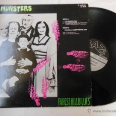 Discos de vinilo: THE FOREST HILLBILLIES : THE MUNSTERS (MAXI SINGLE) GAZ'S RECORDS 12 GAZ 007, MADE IN ENGLAND. Lote 53994136