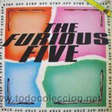 Discos de vinilo: THE FURIOUS FIVE - STEP OFF (MAXI) . Lote 54003579