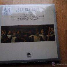 Discos de vinilo: JOAN CEREROLS. 9 VILLANCETS. ESCOLANIA DE MONTSERRAT. SCHWANN 1984. LP. Lote 54006001