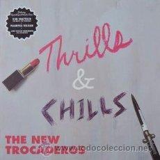 Discos de vinilo: THE NEW TROCADEROS - THRILLS & CHILLS (KOTJ REC., KOTJ 017, LP, 2015) LIMITADO NUMERADO GARAGE ROCK. Lote 54008787