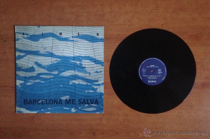 ALMEN - BARCELONA ME SALVA (CARMEN 1985) (Música - Discos - LP Vinilo - Grupos Españoles de los 70 y 80)