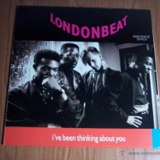 Discos de vinilo: MAXI SINGLE LONDONBEAT (I'VE BEEN THINKING ABOUT YOU) EXCELENTE ESTADO - BMG-1990. Lote 54012494