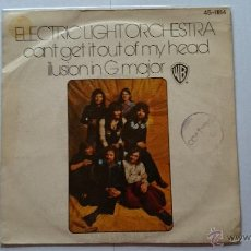 Discos de vinilo: ELECTRIC LIGHT ORCHESTRA (E.L.O. - ELO) - CAN'T GET IT OUT OF MY HEAD / ILLUSION IN G MAJOR (1975). Lote 54014425