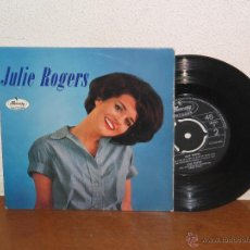 Discos de vinilo: JULIE ROGERS 7´´ MEGA RARO VINTAGE REINO UNIDO 1964. Lote 54014844