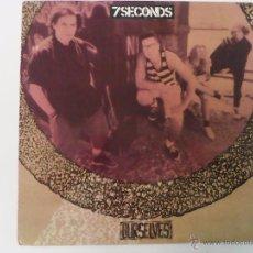 Disques de vinyle: 7 SECONDS - OUR SELVES. Lote 54017691