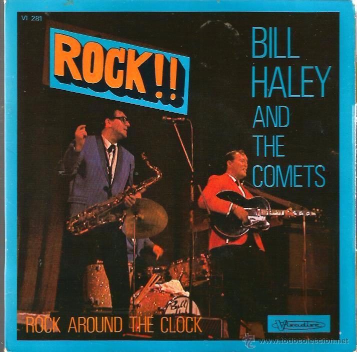 EP BILL HALEY AND THE COMETS : ROCK AROUND THE CLOCK (Música - Discos de Vinilo - EPs - Rock & Roll)