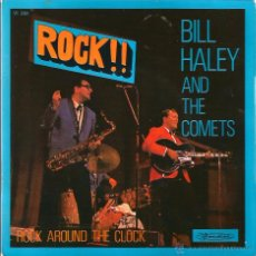 Discos de vinilo: EP BILL HALEY AND THE COMETS : ROCK AROUND THE CLOCK. Lote 54018154