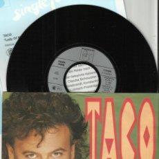 Discos de vinilo: TACO SINGLE LADY OF MY HEART ALEMANIA.1990. Lote 54018613