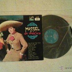 Discos de vinilo: LP MASSIEL EN MÉXICO. Lote 54019890
