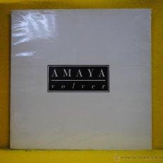 Disques de vinyle: AMAYA - VOLVER - FOLDER - LP. Lote 54020174