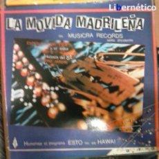 Discos de vinilo: LA MOVIDA MADRILEÑA. LP MUSIKRA RECORDS 1984. EX, EX.. Lote 54023959