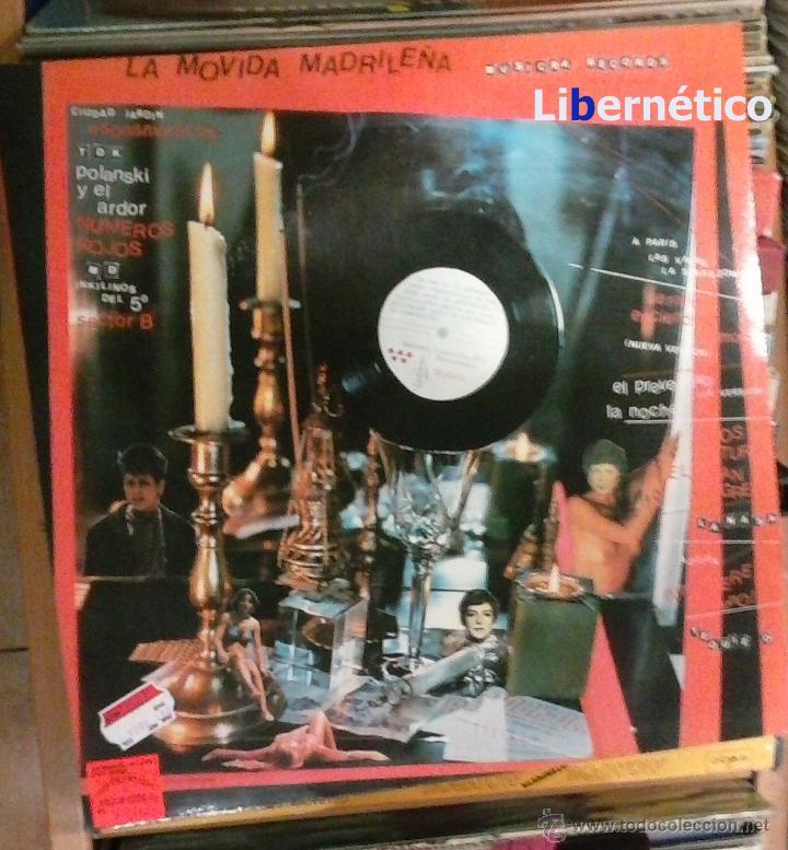 Discos de vinilo: La Movida Madrileña. LP Musikra Records 1984. EX, EX. - Foto 2 - 54023959