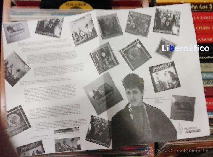 Discos de vinilo: La Movida Madrileña. LP Musikra Records 1984. EX, EX. - Foto 3 - 54023959
