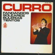 Discos de vinilo: CURRO-EP.HISPAVOX.1969.. Lote 54024335
