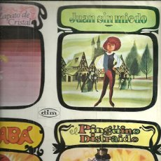 Discos de vinilo: ELPINGUINO DISTRAIDO / ALI-BABA... CUENTOS LP SELLO DIM AÑO 1959 EDITADO EN ESPAÑA.... Lote 54025753