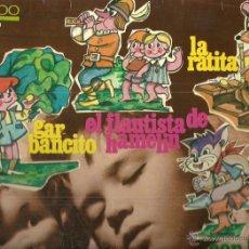 Discos de vinilo: EL FLAUTISTA DE HAMELIN / GARBANCITO... CUENTOS LP SELLO EKIPO AÑO 1967 EDITADO EN ESPAÑA.... Lote 54025949