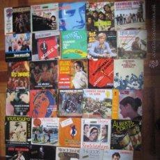 Discos de vinilo: LOTE DE 34 DISCOS DE VINILO SINGLES.. Lote 91800869